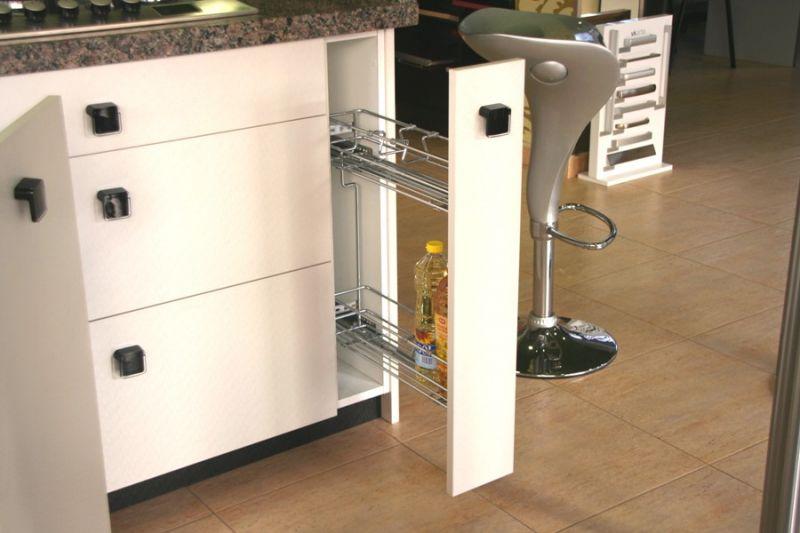 Cocinas a medida muebles de cocina cocinas baratas - Armario escobero cocina ...